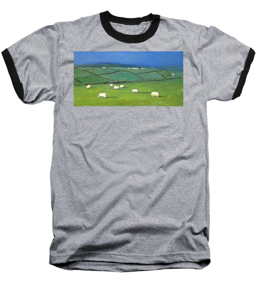 Celtic Sheep Baseball T-Shirt