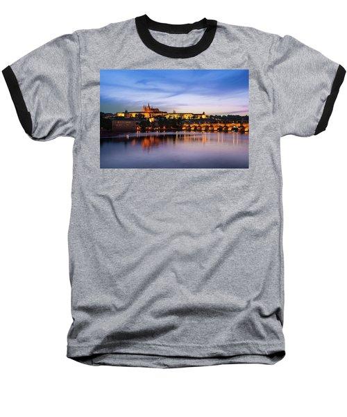 Charles Bridge Baseball T-Shirt