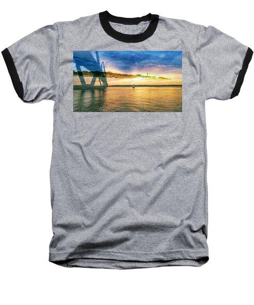 Charleston Harbor Sc Baseball T-Shirt