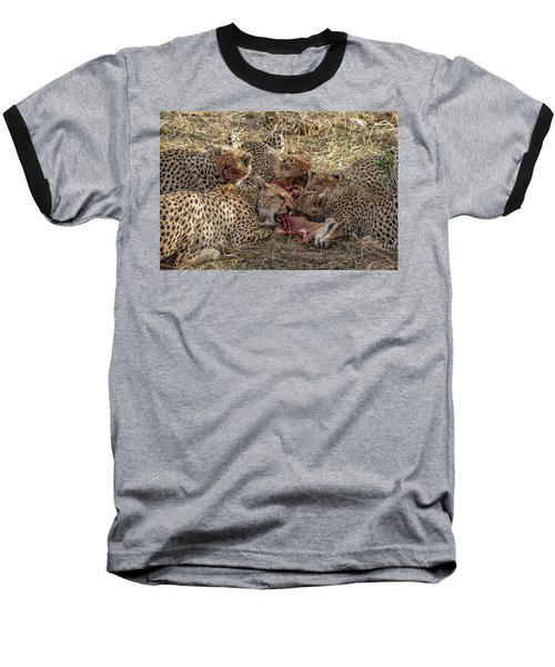 Cheetahs And Grant's Gazelle Baseball T-Shirt