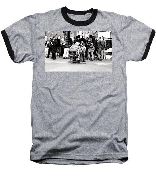 Chess Match Union Square  Baseball T-Shirt