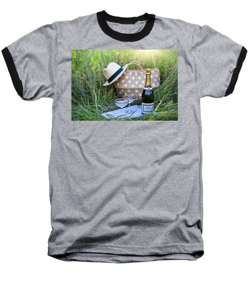 Chic Picnic Baseball T-Shirt