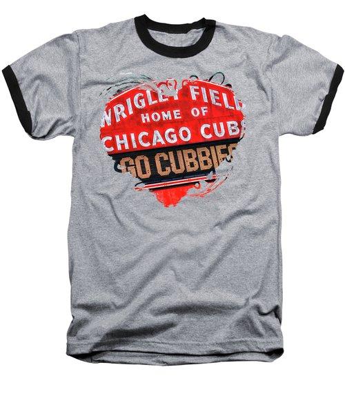Chicago Cubs Wrigley Field Baseball T-Shirt