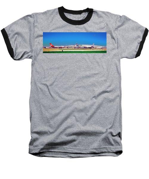 Chicago, International, Terminal Baseball T-Shirt