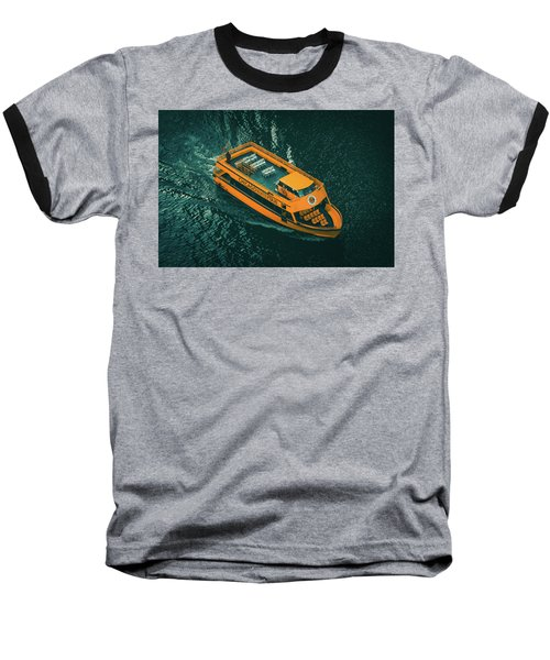 Chicago Taxi Baseball T-Shirt