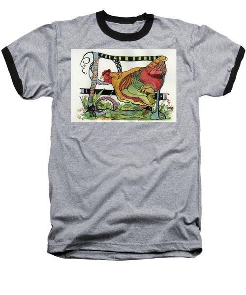 Chicken Baseball T-Shirt