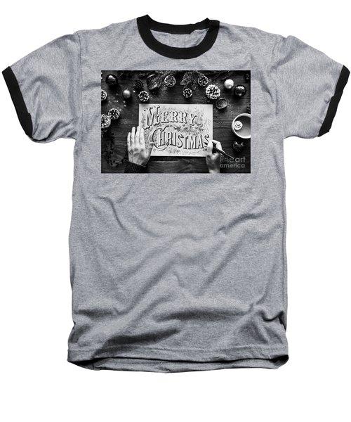 Christmas 1 Baseball T-Shirt