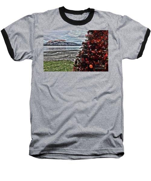 Christmas View Baseball T-Shirt