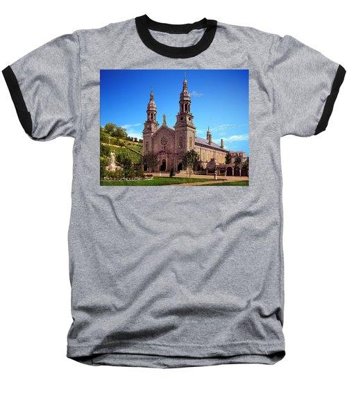 Church Of Ste Anne De Beaupre Baseball T-Shirt