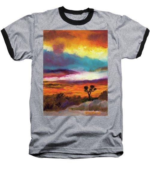 Cindy Beuoy - Arizona Sunset Baseball T-Shirt