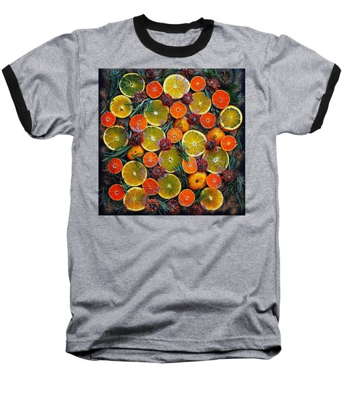 Citrus Time Baseball T-Shirt