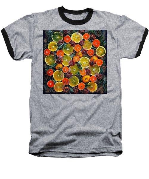 Citrus Time Baseball T-Shirt