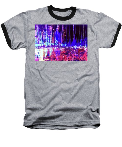City By The Sea Right Baseball T-Shirt