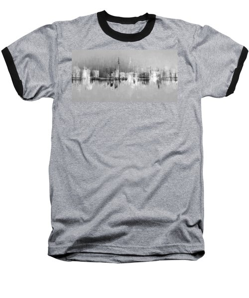 City In Black Baseball T-Shirt