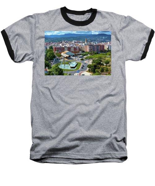 Cityscape In Reus, Spain Baseball T-Shirt