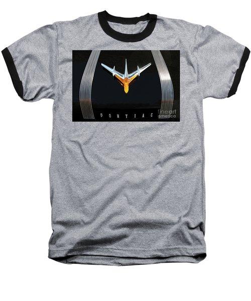 Classic Pontiac Hood Ornament Baseball T-Shirt