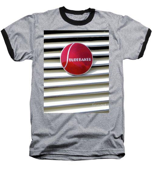 Classic Studebaker Logo Baseball T-Shirt