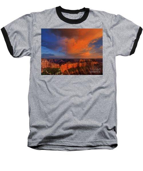 Clearing Storm Cape Royal North Rim Grand Canyon Np Arizona Baseball T-Shirt