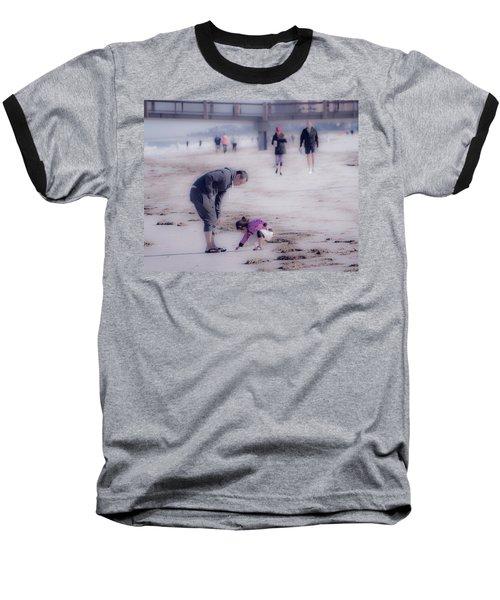 Clearwater Beachcombing Baseball T-Shirt