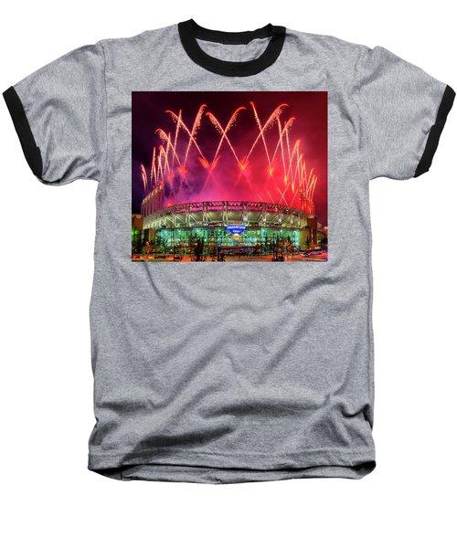 Cleveland Indians Fireworks Baseball T-Shirt