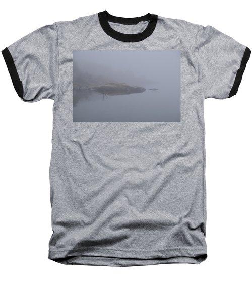 Cliffs In Fog Baseball T-Shirt