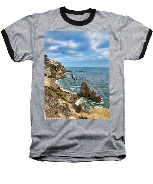 Cliffs Of Corona Del  Mar Baseball T-Shirt