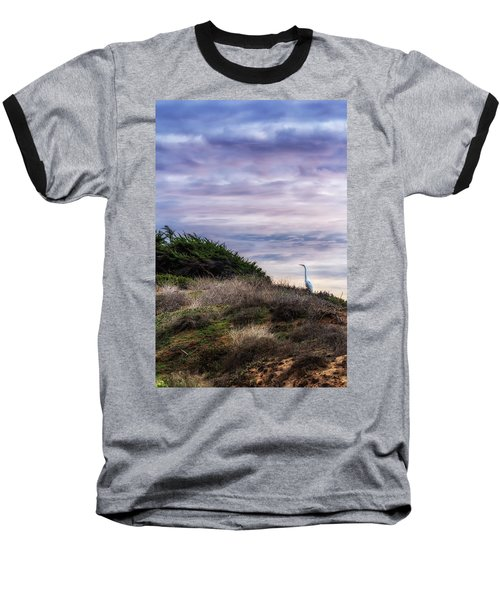 Cliffside Watcher Baseball T-Shirt