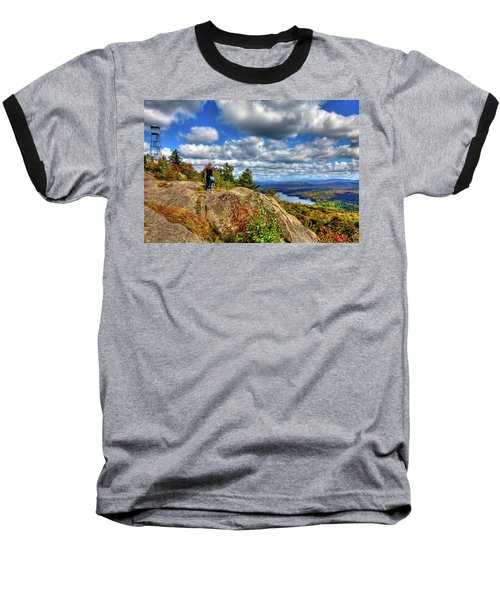 Baseball T-Shirt featuring the photograph Close To Heaven On Earth by David Patterson