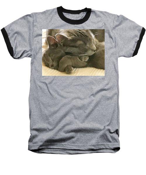 Cloud And Myst Baseball T-Shirt