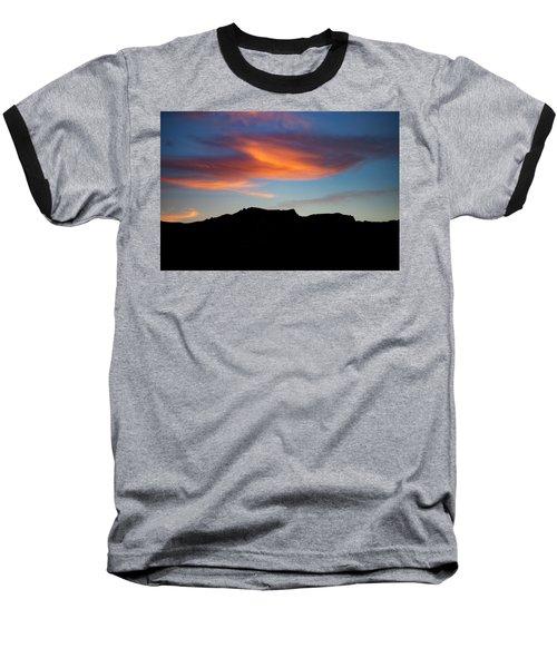 Cloud Over Mt. Boney Baseball T-Shirt