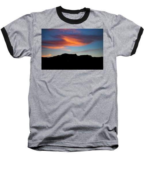 Cloud Over Mt. Boney Baseball T-Shirt