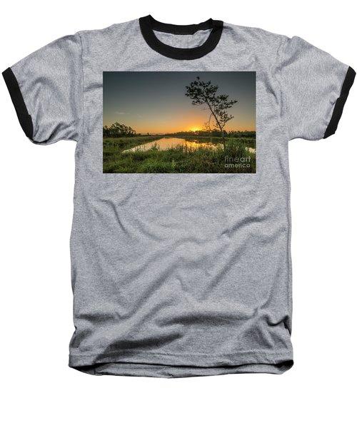Cloudless Hungryland Sunrise Baseball T-Shirt