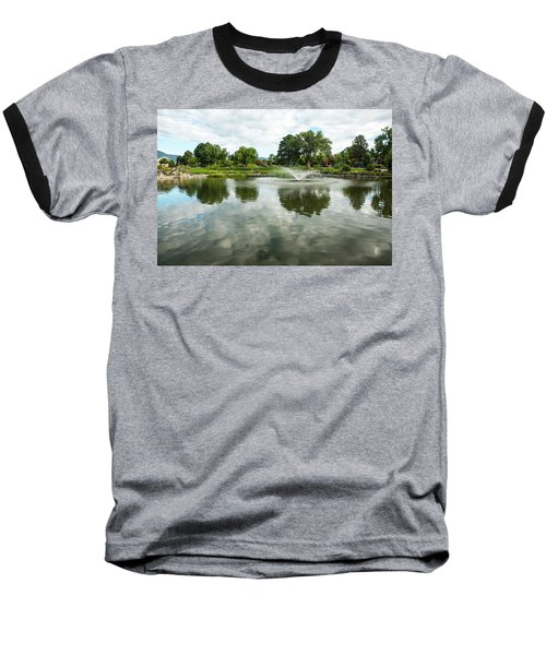 Clouds On Ashley Pond Baseball T-Shirt
