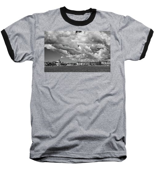 Clouds Over Helsinki Baseball T-Shirt