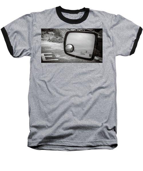 Cloudy Day Reflection Baseball T-Shirt
