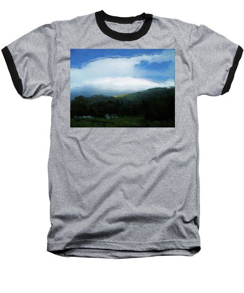 Cloudy View Painting Baseball T-Shirt