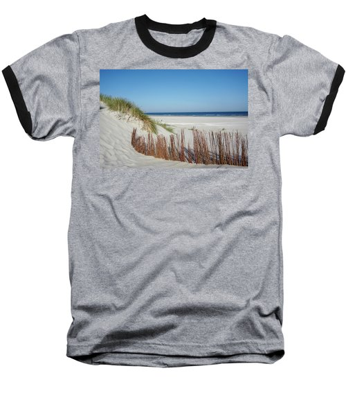 Baseball T-Shirt featuring the photograph Coast Ameland by Anjo Ten Kate