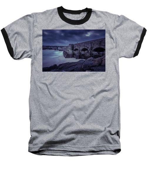Cold Mood On The Pier Baseball T-Shirt