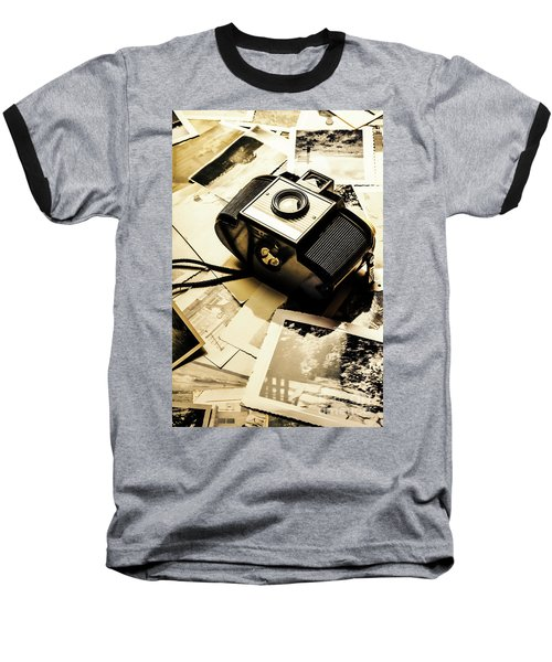 Collecting Scenes Baseball T-Shirt