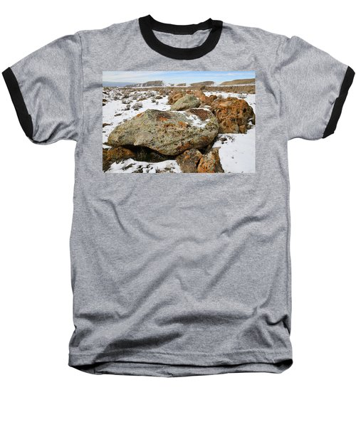 Color In The Book Cliff Desert Baseball T-Shirt