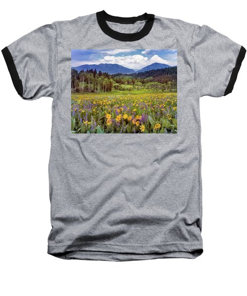 Color Of Spring Baseball T-Shirt