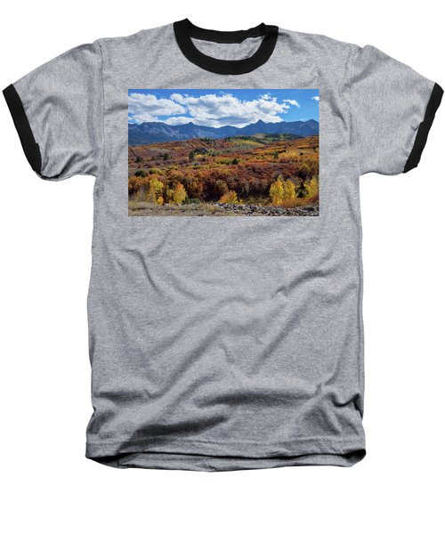 Baseball T-Shirt featuring the photograph Colorado Color Lalapalooza by James BO Insogna