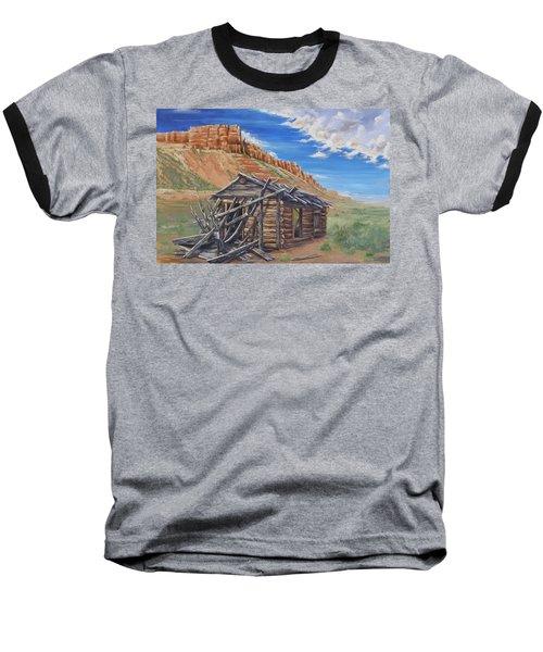 Colorado Prarie Cabin Baseball T-Shirt