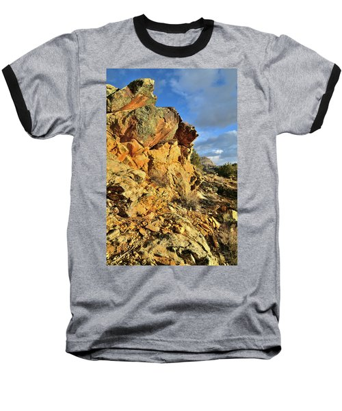 Colorful Crags In Colorado National Monument Baseball T-Shirt