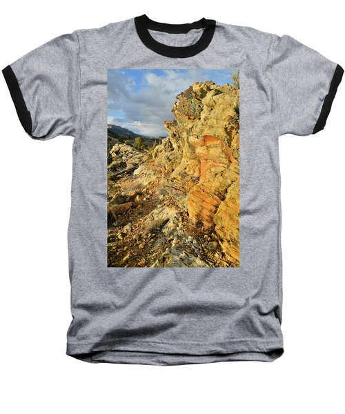 Colorful Entrance To Colorado National Monument Baseball T-Shirt