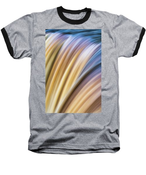 Colorful Flow Baseball T-Shirt