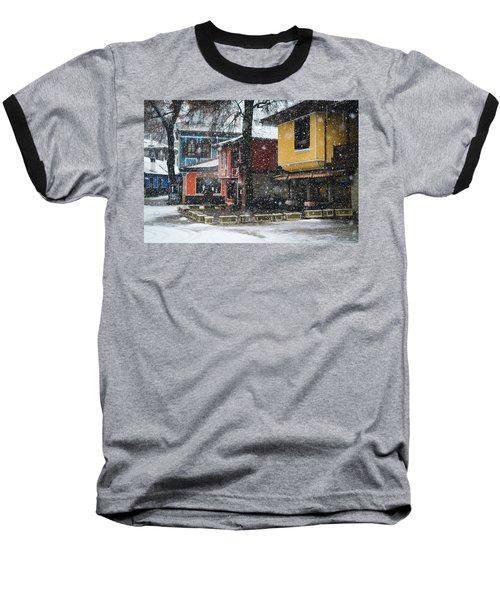 Colorful Koprivshtica Houses In Winter Baseball T-Shirt