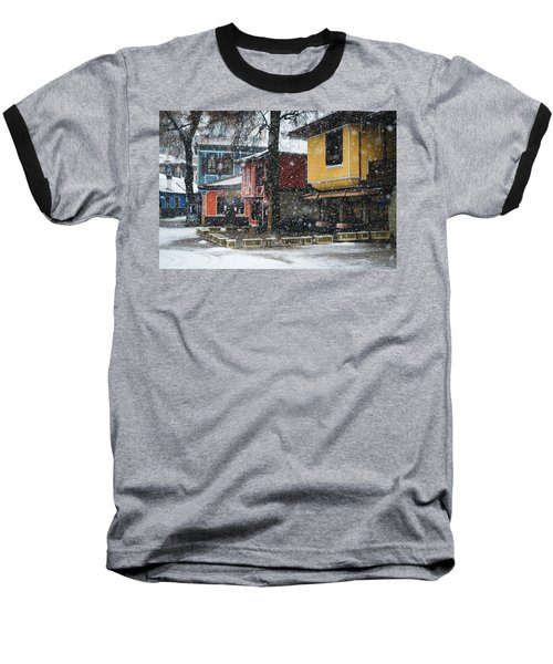 Colorful Koprivshtica Houses In Winter Baseball T-Shirt