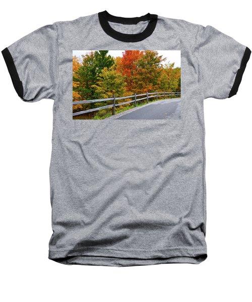 Colorful Lane Baseball T-Shirt