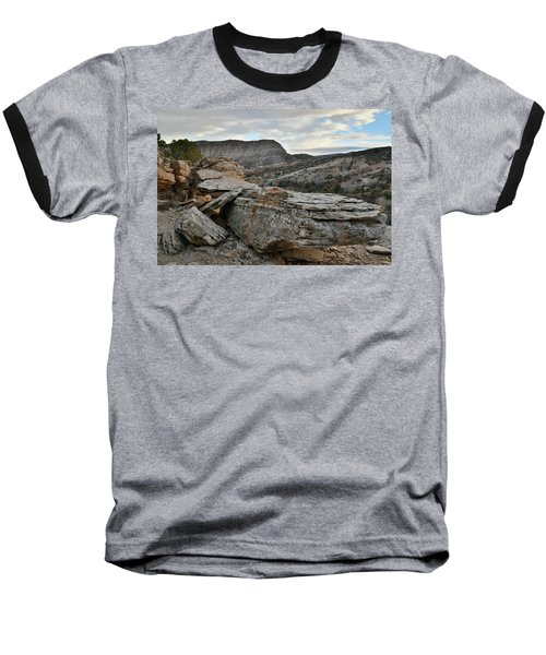 Colorful Overhang In Colorado National Monument Baseball T-Shirt